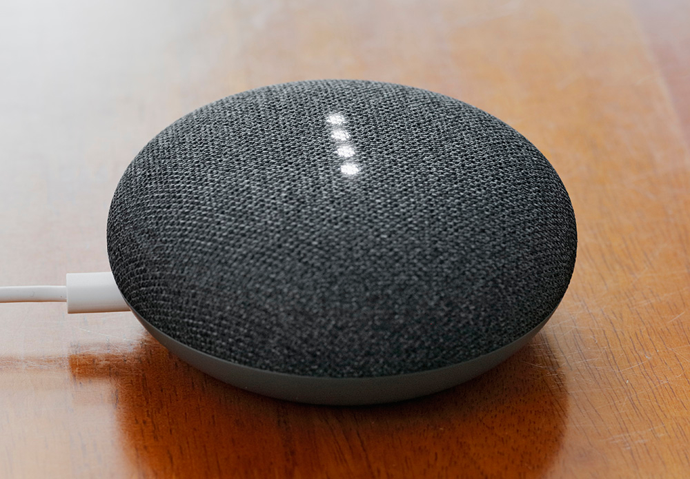 Pratsam Reader Voice - Can be accessed via the Google Nest Mini smartspeaker