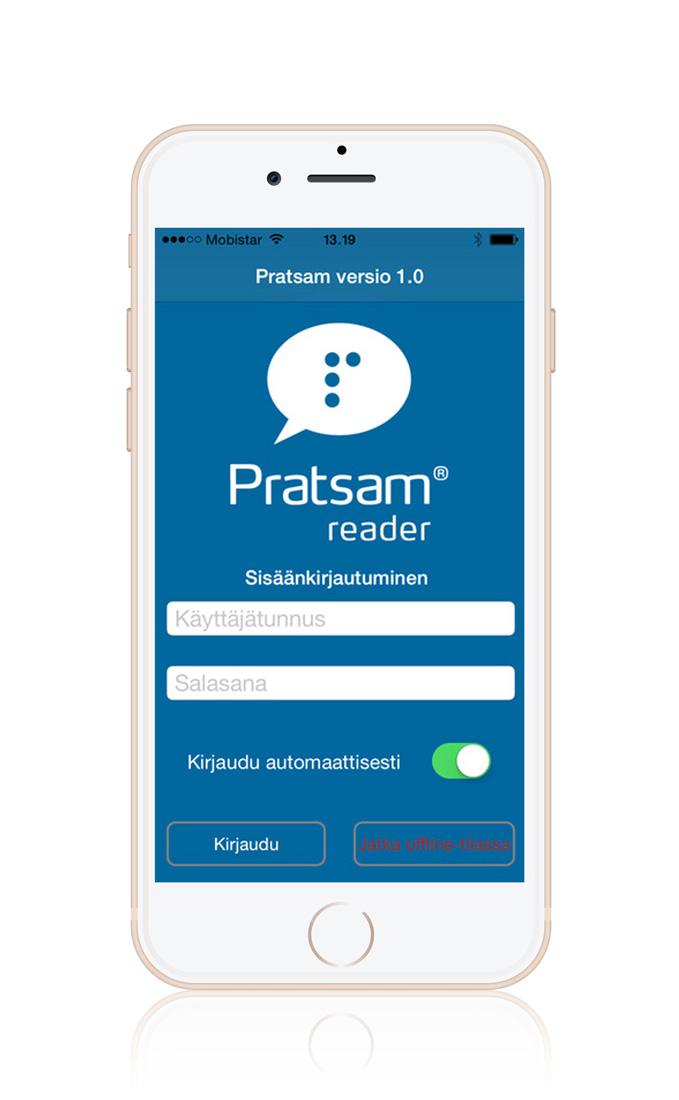 DAISY player app – Pratsam